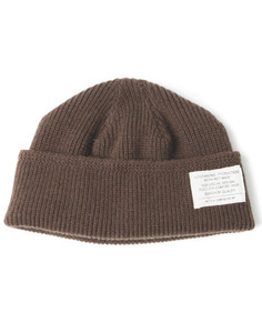 MERINO WOOL WATCH CAP[BROWN]