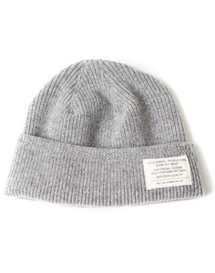 MERINO WOOL WATCH CAP[GRAY]