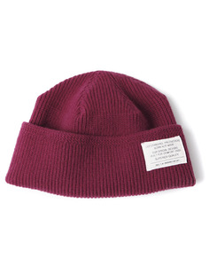 MERINO WOOL WATCH CAP[WINE]