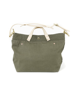 WAX CANVAS BAG[KHAKI]