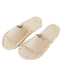 SLS Lot.3266 Slide Leather Sandal[NATURAL]FERKER x OUTSTANDING&CO