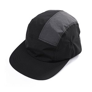NYLON CAMP CAP [BLACK]