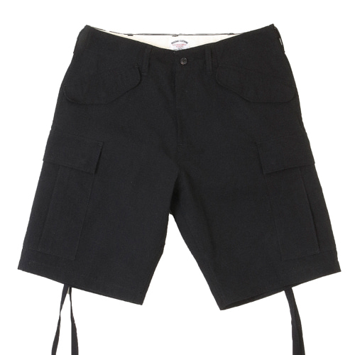 M47 RIP CARGO SHORT PANTS [BLACK]