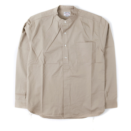 BAND COLLAR PULL OVER SHIRTS[BEIGE] 아웃스탠딩 컴퍼니BAND COLLAR PULL OVER SHIRTS[BEIGE]