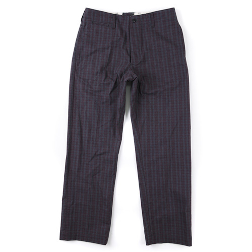 NEW ORLEANS CHECK PANTS [WINE] 아웃스탠딩 컴퍼니NEW ORLEANS CHECK PANTS [WINE]