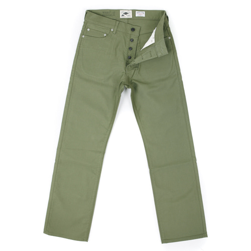 JUNGLECLOTH STRAIGHT PANTS[KHAKI]OUTSTANDING&CO X SIMPLE