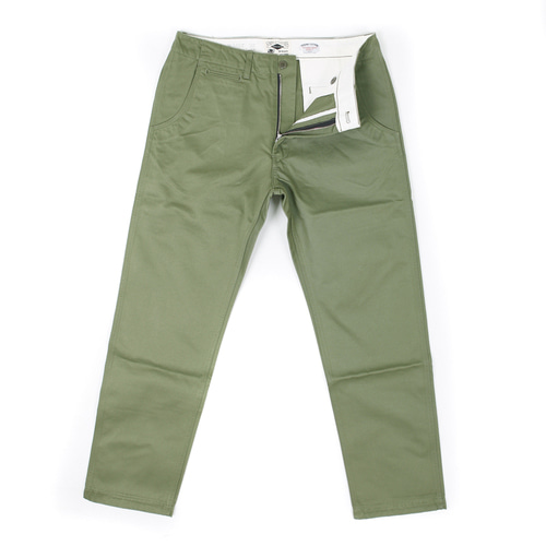 STANDARD CHINO PANTS[OLIVE GREEN]OUTSTANDING&CO X SIMPLE
