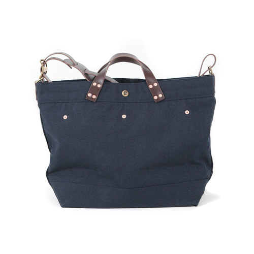 NAVY CANVAS BAG[NAVY]