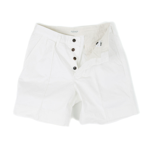 OFFICER MILITARY CHINO SHORT[OFF WHITE]