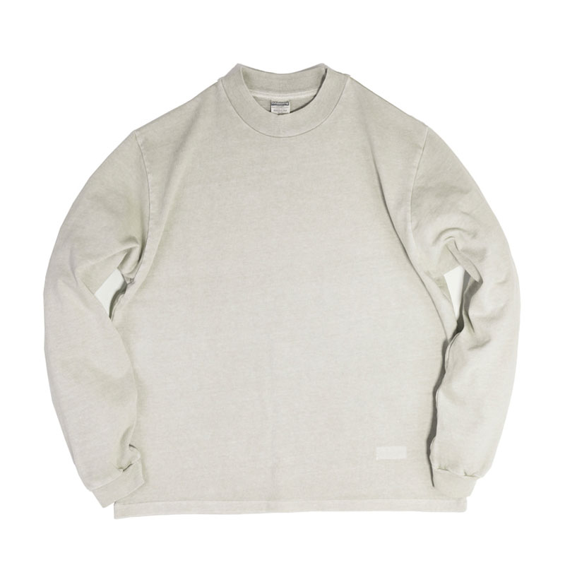 PIGMENT MOCKNECK LONG SLEEVE [KHAKI GRAY]