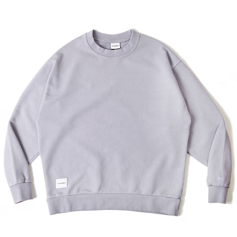 BLANK SWEAT SHIRT [LIGHT PURPLE]