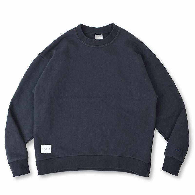 BLANK SWEAT SHIRT [NAVY]