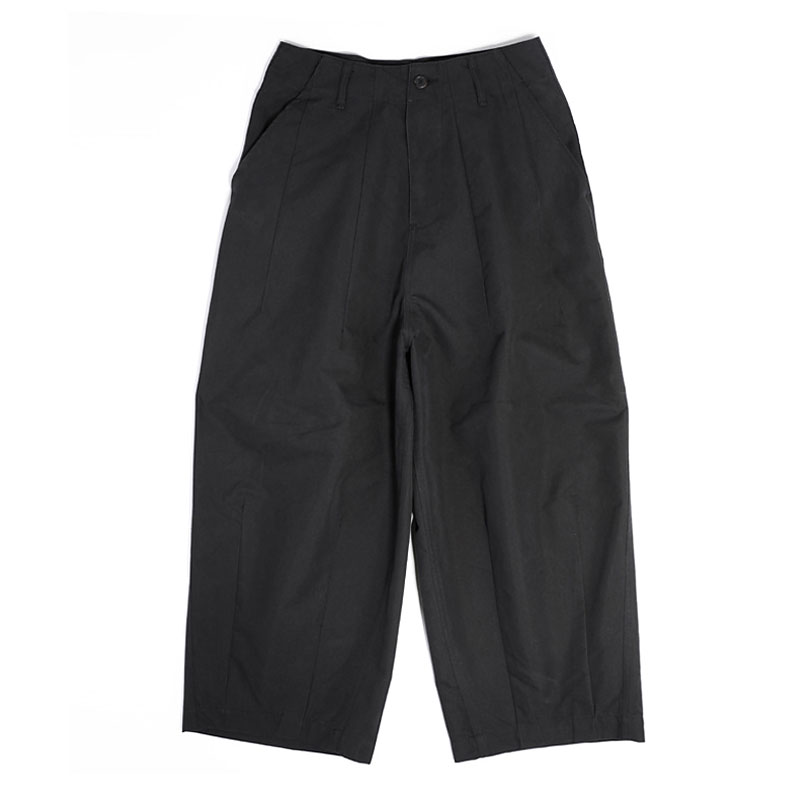 BALLOON WIDE FIT PANTS [BLACK]