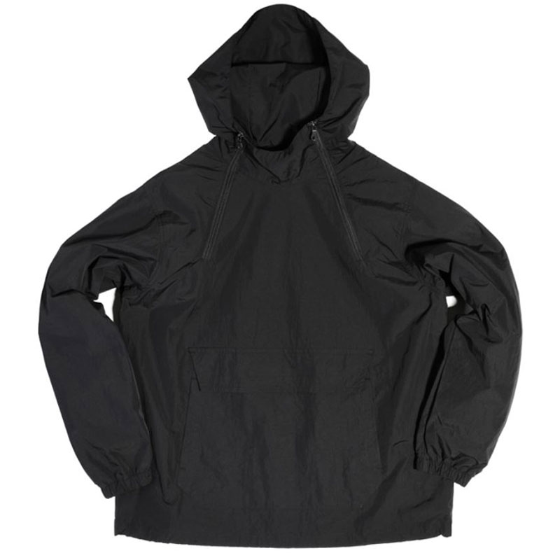 2 ZIP ANORAK PARKA [BLACK]