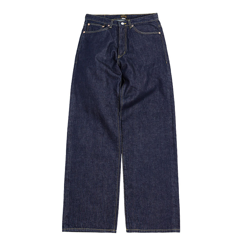 WIDE SELVEDGE ONE WASH DENIM [INDIGO]