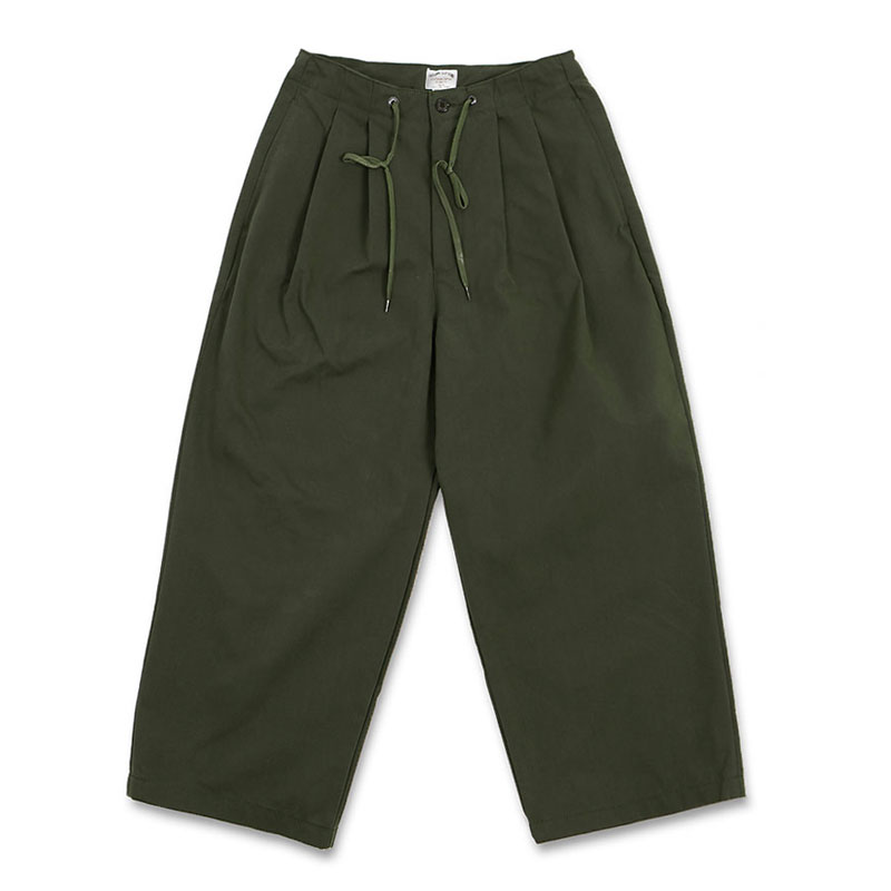 WIDE COMFORT PANTS [KHAKI]