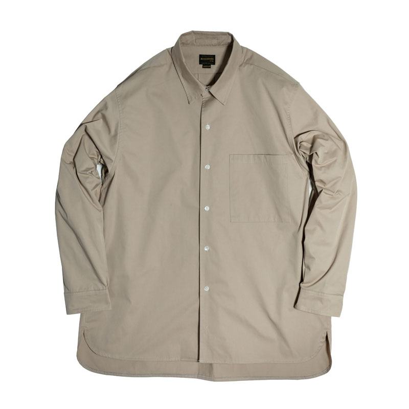 COMFORT FIT SHIRT [BEIGE] 아웃스탠딩 컴퍼니COMFORT FIT SHIRT [BEIGE]