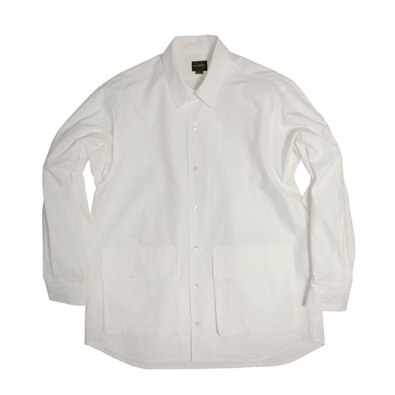 COMFORT FIT 2POCKET SHIRT [OFF WHITE]