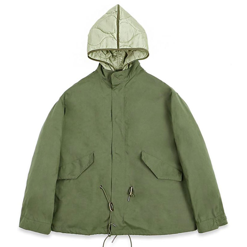 FISHTAIL SHORT PARKA [OLIVE GREEN] 아웃스탠딩 컴퍼니FISHTAIL SHORT PARKA [OLIVE GREEN]