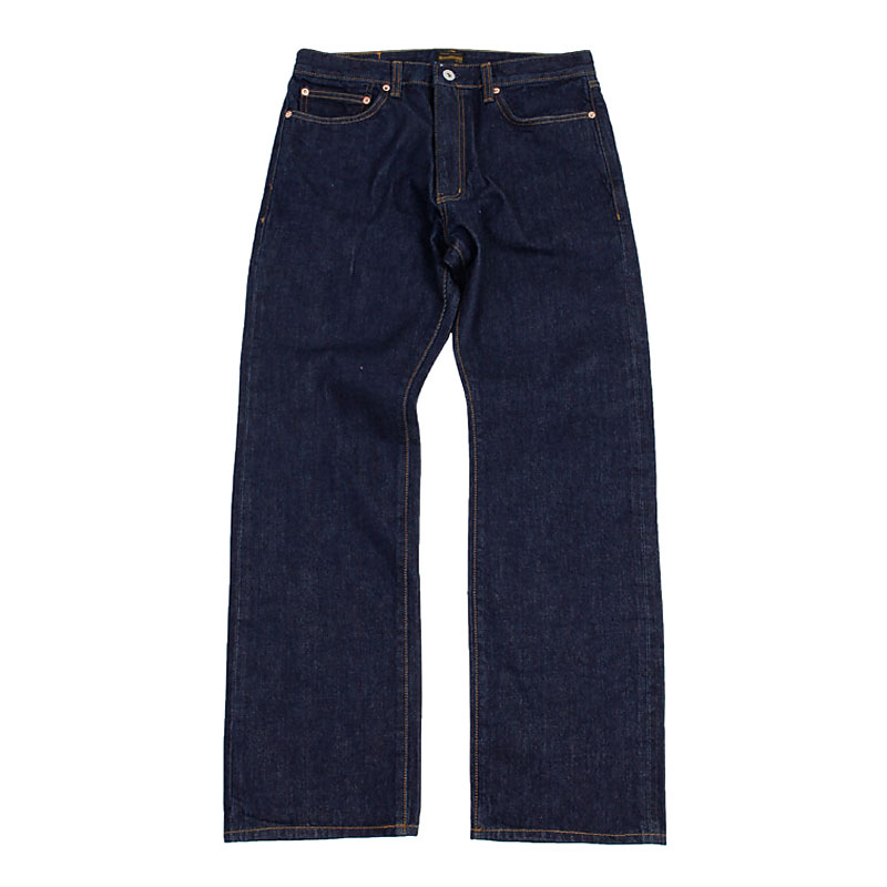 REGULAR FIT ONE WASH DENIM [INDIGO]