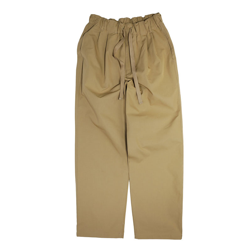 COMFORT FIT COTTON PANTS [BEIGE]