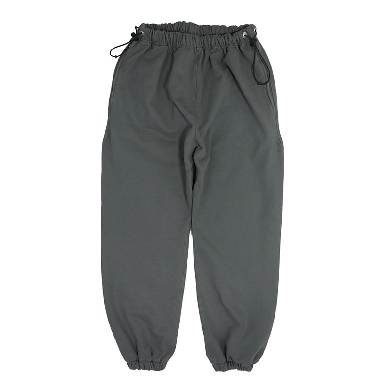 REVERSE SWEAT PANTS [CHARCOAL]