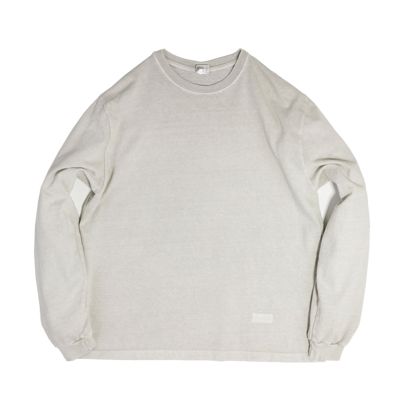 PIGMENT LONG SLEEVE [KHAKI GRAY]