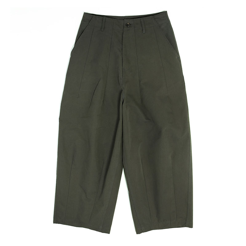 BALLOON WIDE FIT PANTS [KHAKI]