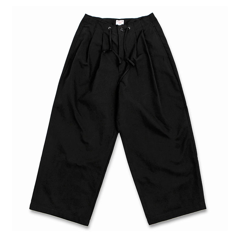 WIDE COMFORT PANTS [BLACK]