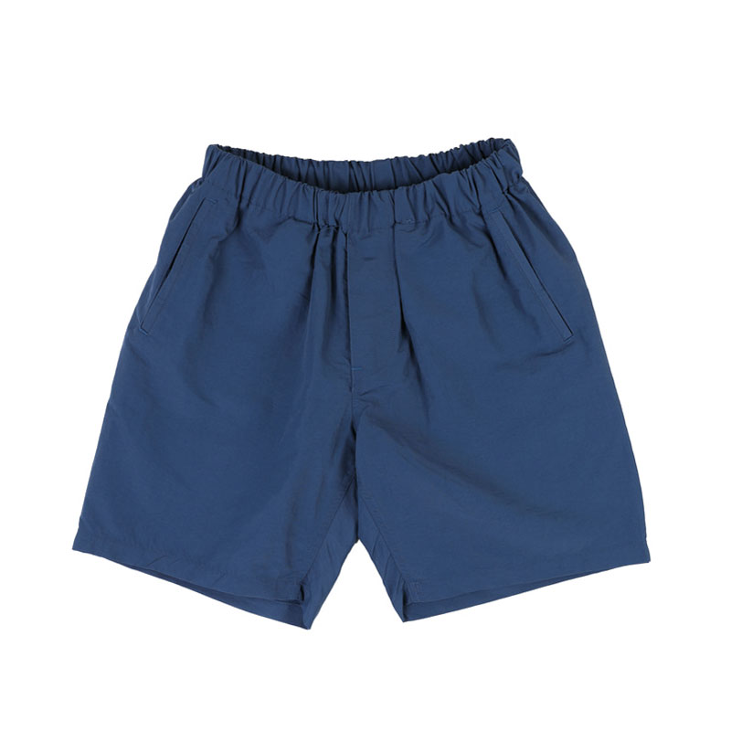 NYLON SHORT EASY PANTS [NAVY]