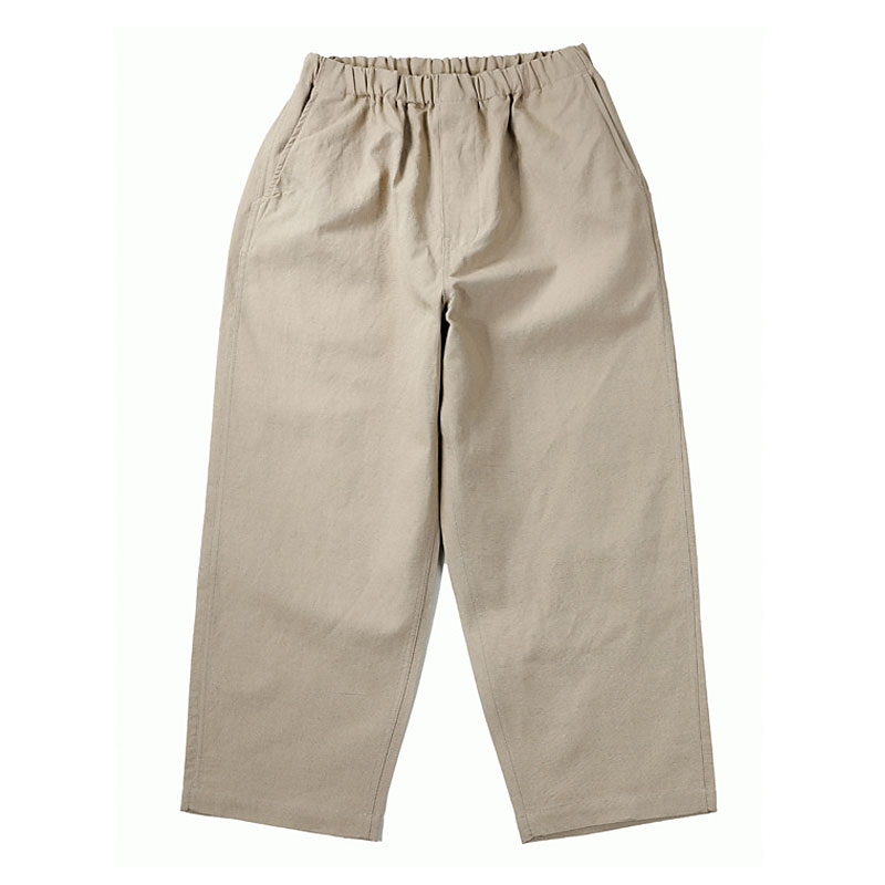LINEN EASY PANTS [BEIGE]