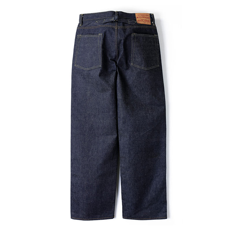 WIDE SELVEDGE DENIM [INDIGO]