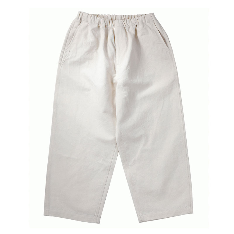 LINEN EASY PANTS [NATURAL]