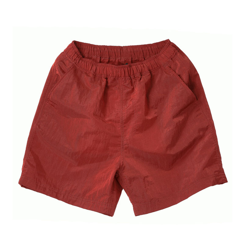 NYLON METAL SHORT PANTS [RED]