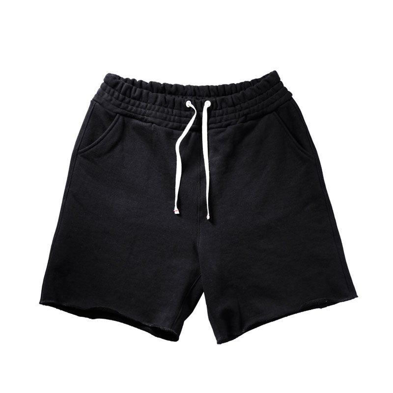 SWEAT SHORT PANTS [BLACK]