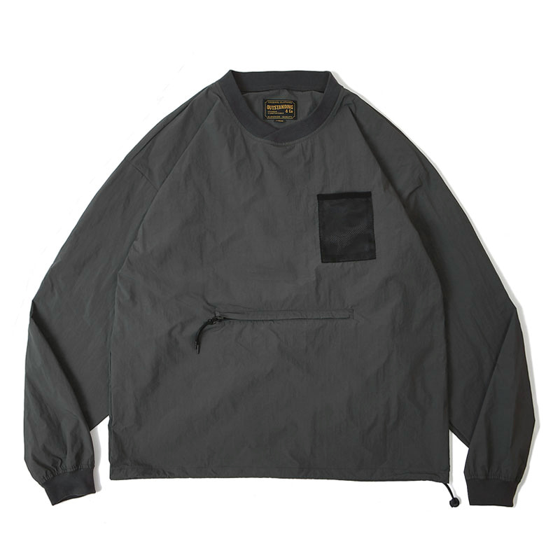 PULLOVER POCKET SHIRT [CHARCOAL]