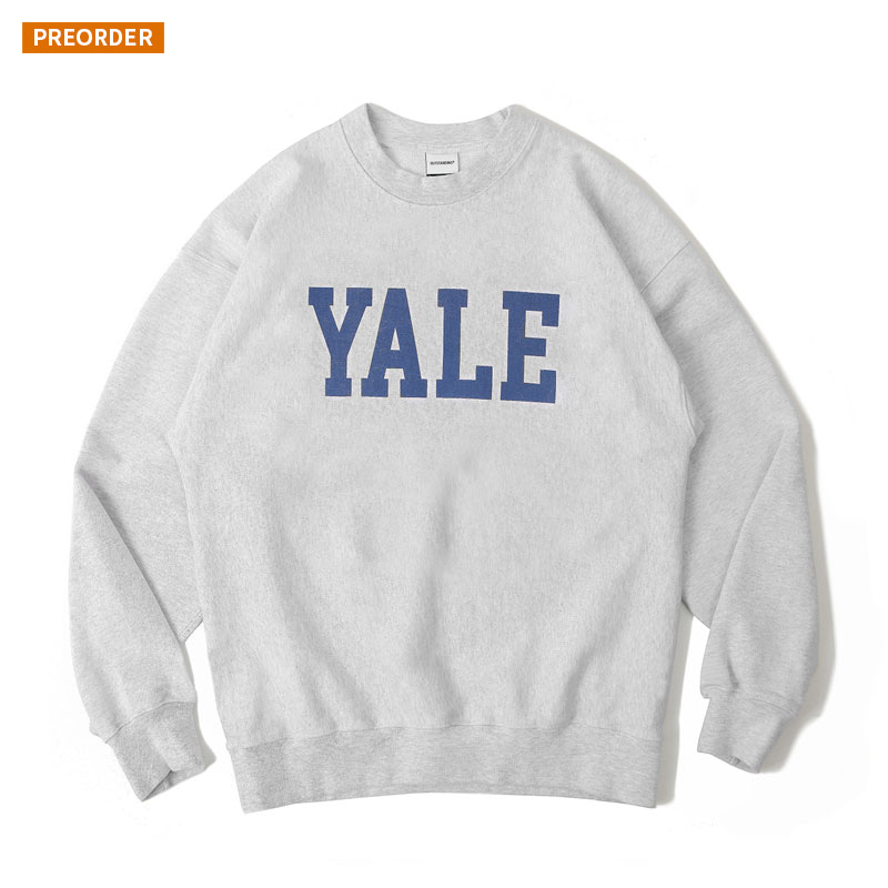 V.S.C SWEAT(YALE)_1% MELANGE GRAY