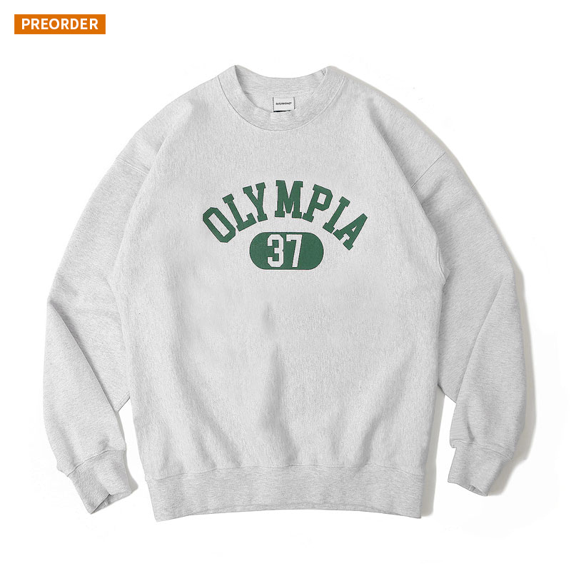 V.S.C SWEAT(OLYMPIA)_1% MELANGE GRAY