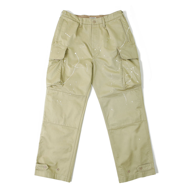 M47 HAND PAINTING PANTS_BEIGE