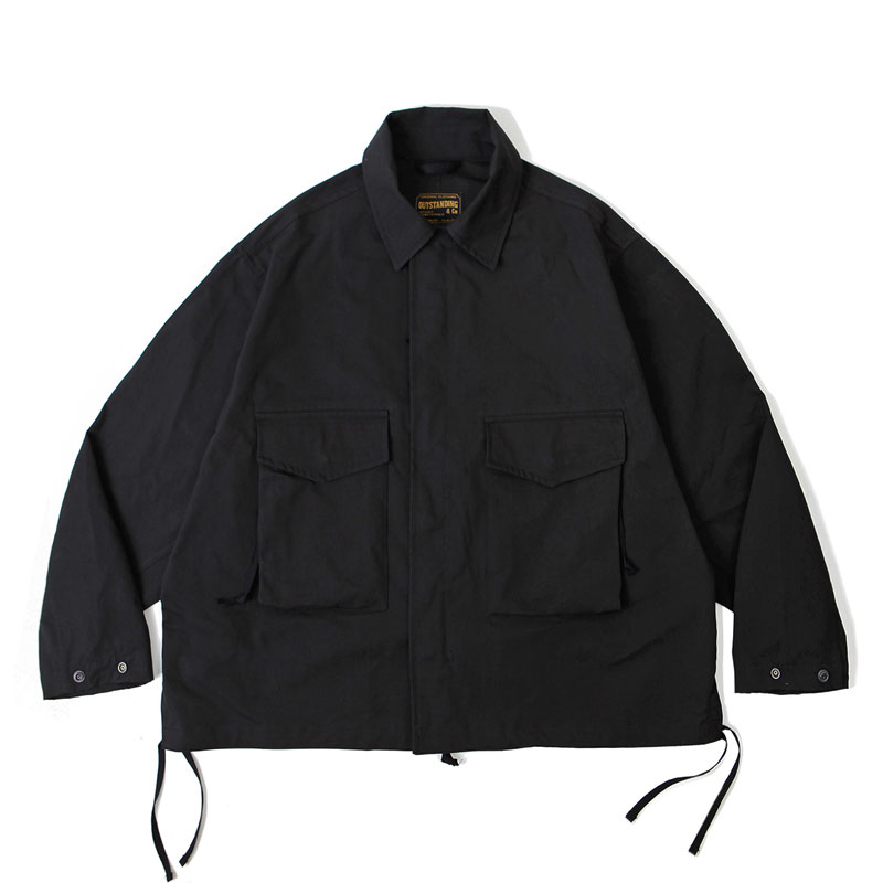2POCKET FIELD JACKET_BLACK