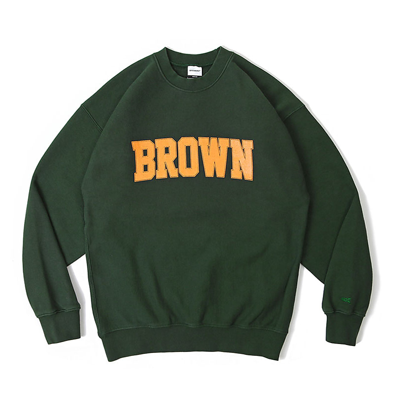 V.S.C SWEAT(BROWN)_GREEN