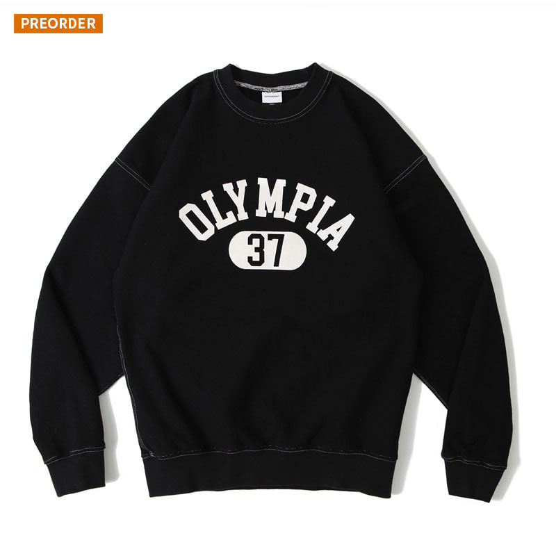 V.S.C SWEAT(OLYMPIA)_BLACK