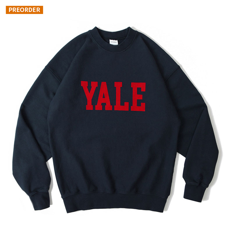 V.S.C SWEAT(YALE)_NAVY