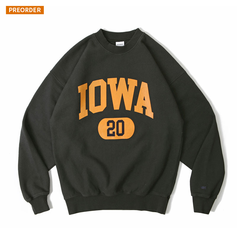 V.S.C SWEAT(IOWA)_CHARCOAL