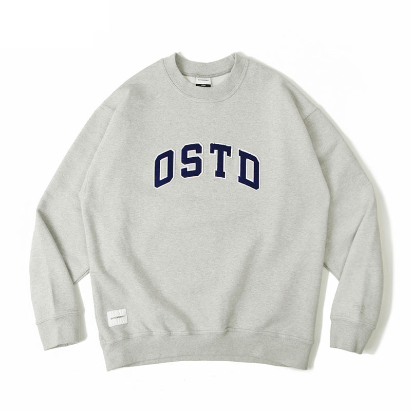 O.S.T.D SWEAT SHIRT [3% MELANGE GRAY]