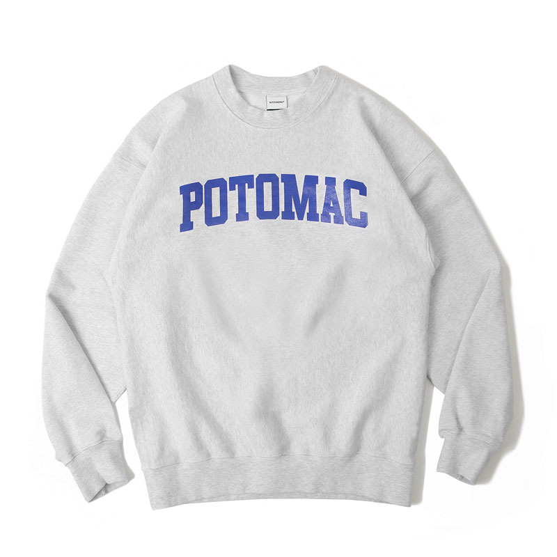 V.S.C SWEAT(POTOMAC)_1% MELANGE GRAY