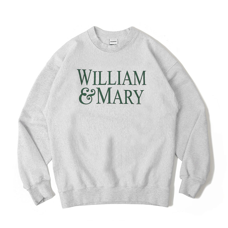 V.S.C SWEAT(MARY)_1% MELANGE GRAY