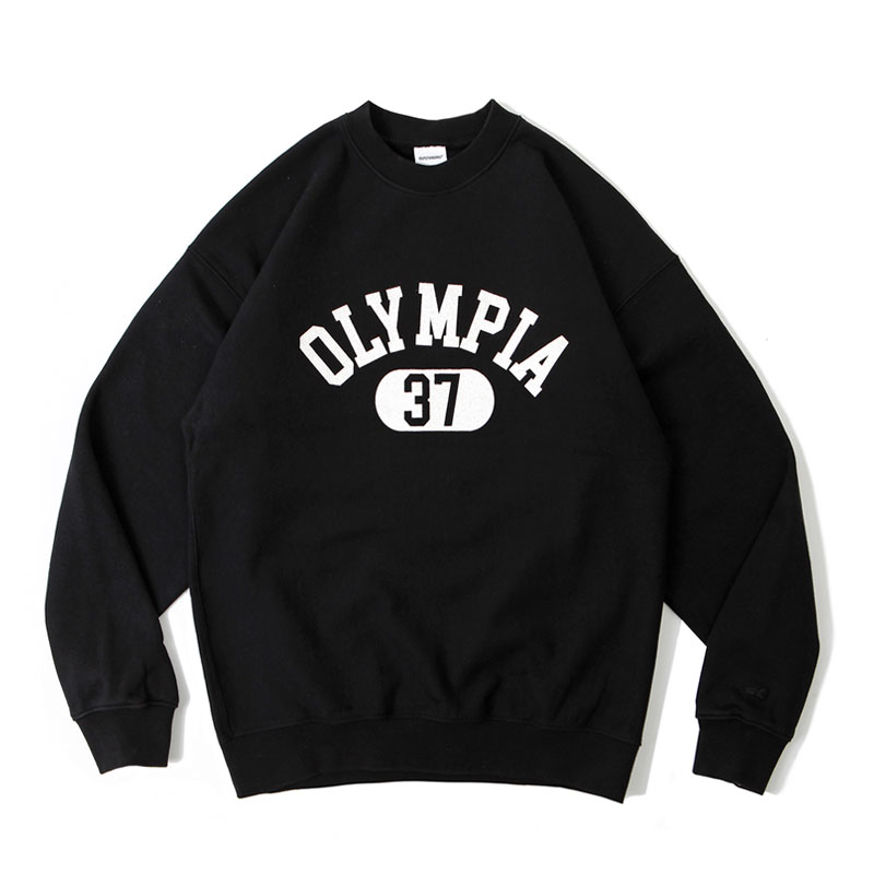 V.S.C SWEAT(OLYMPIA)_BLACK_ver.2