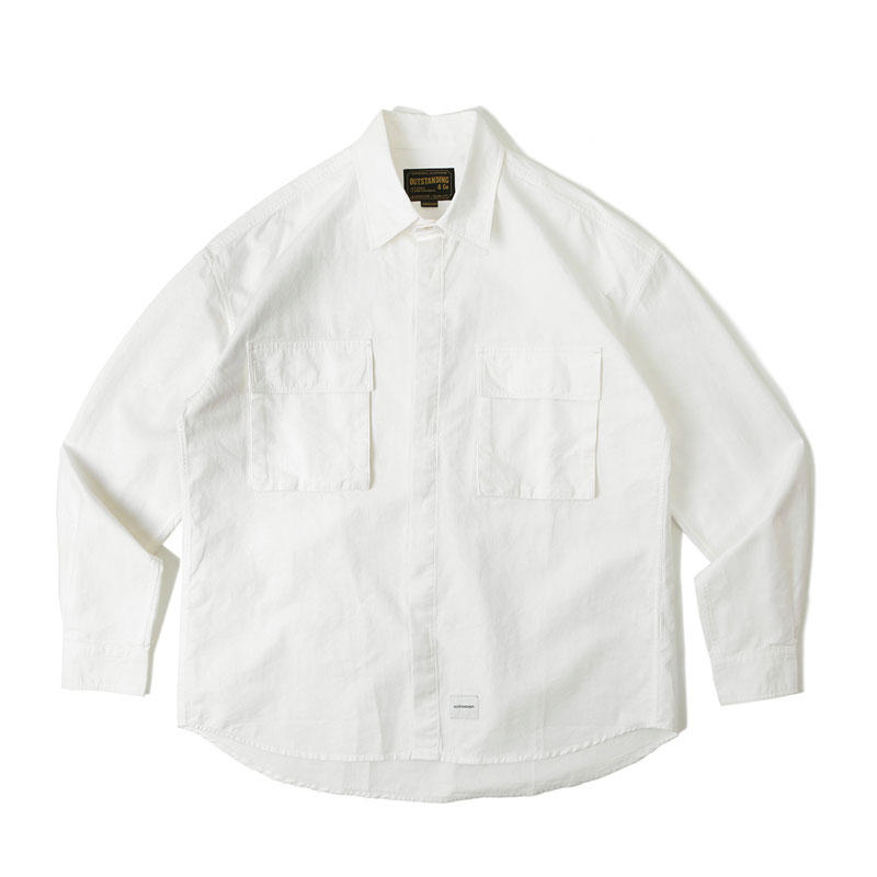 UTILITY SHIRT_OFF WHITE