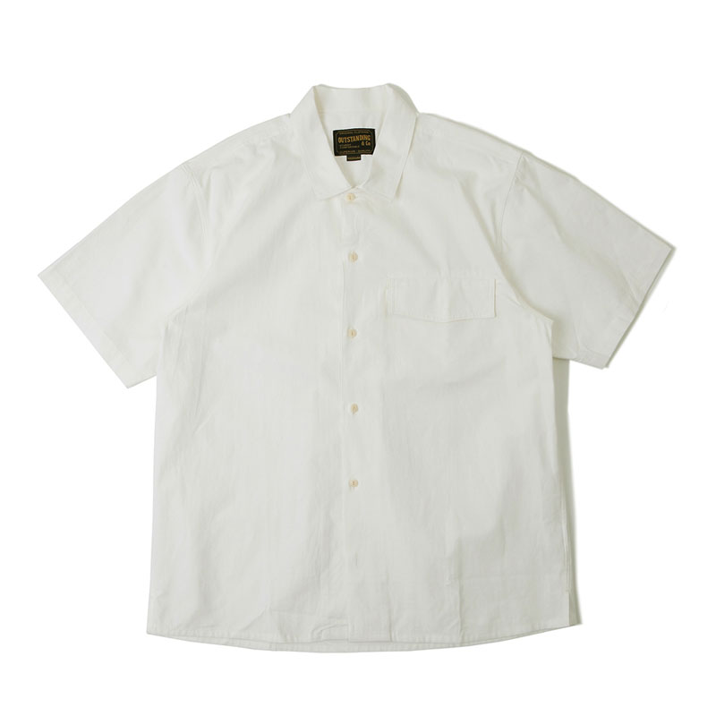 POCKET OPEN SHIRT_OFF WHITE